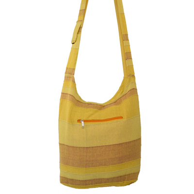 Beuteltasche / India Bag gelb