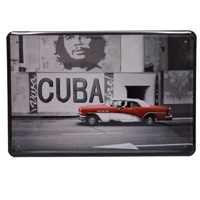 Blechschild Viva Cuba Libre